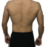 台中健身覺醒健身:【覺醒變身案例】肌肉大小邊平衡