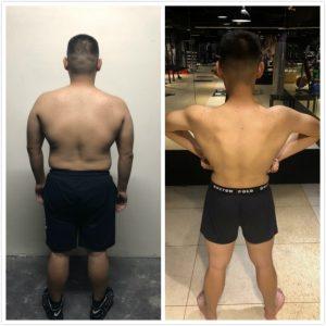 台中健身覺醒健身:【覺醒變身案例】宅男進化到肌肉型男