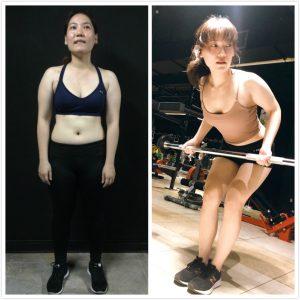 台中健身覺醒健身:【覺醒變身案例】 健身凍齡的女神