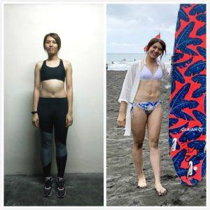 減脂雕塑,當美女進化到馬甲女神(台中/健身教練)覺醒健身